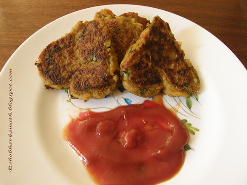 Tasty Cutlet from leftover Rice 1