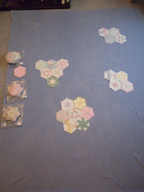 Arranging hexies 1