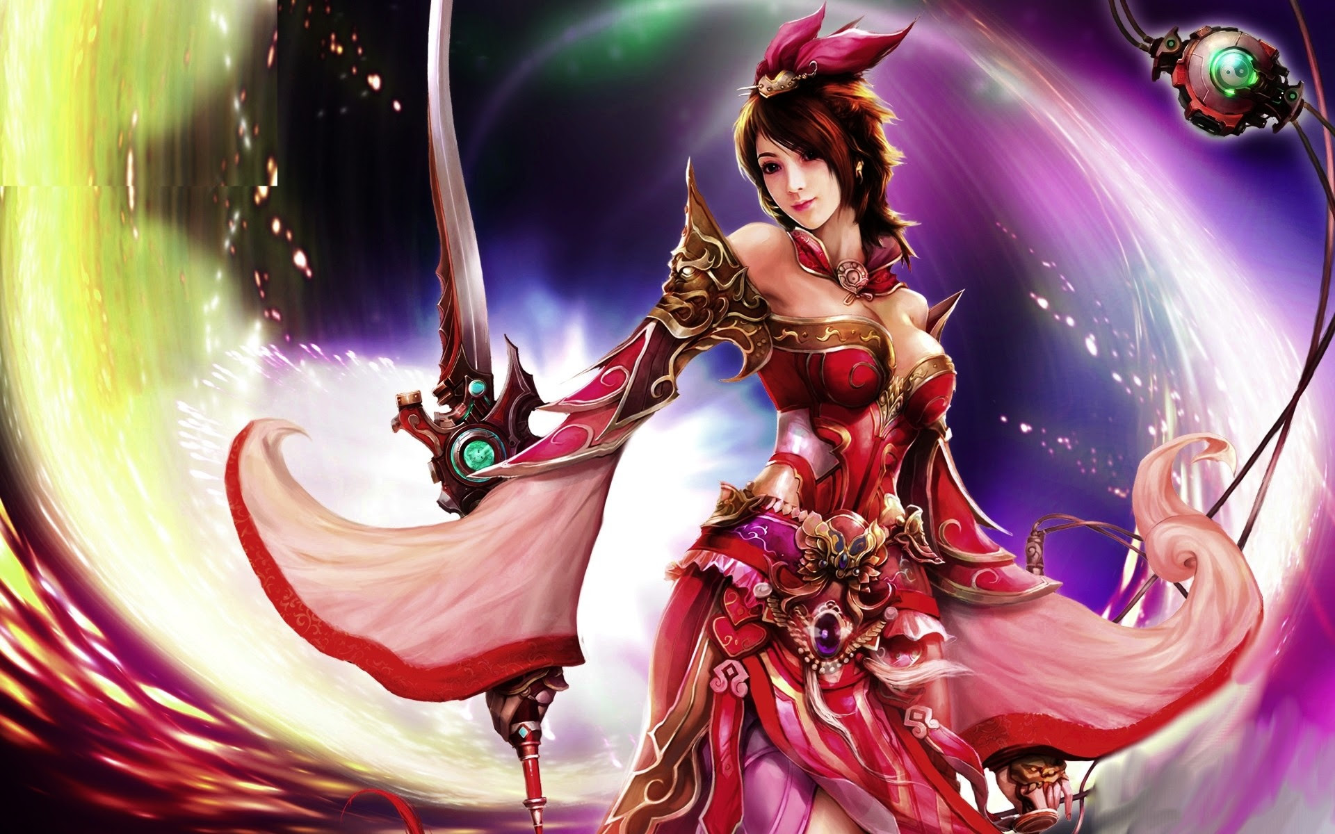 Anime Female Warrior Wallpaper (71+ images)