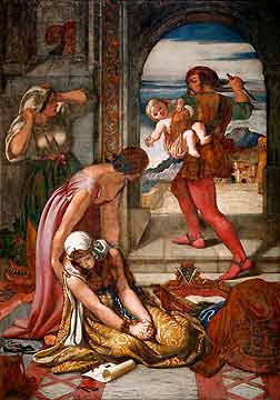 Griselda's first Trial of Patience, from The Canterbury Tales