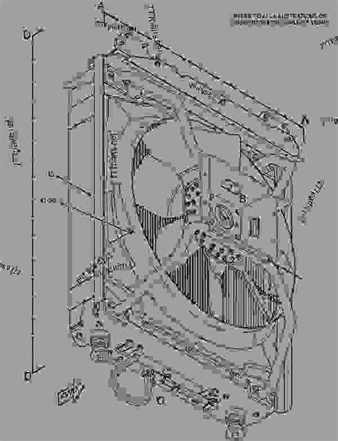 2551217 RADIATOR & FAN GROUP - ENGINE - MACHINE