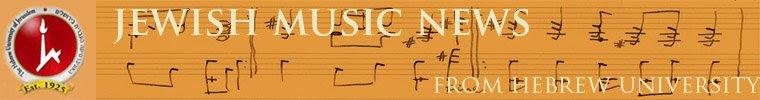 Jewish Music News