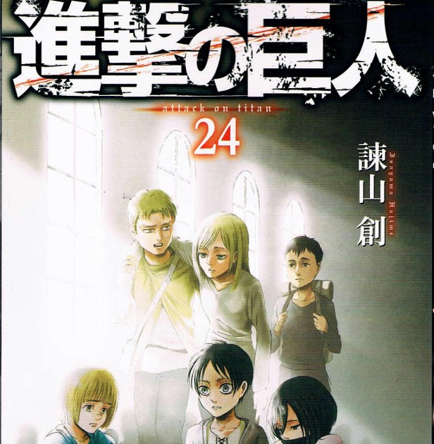 Three Steps Over Japan: Attack On Titan, Vol. 24 Review