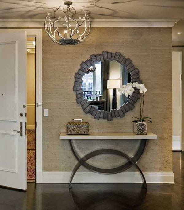 How to decorate entry hall entry transitional with covered ...
