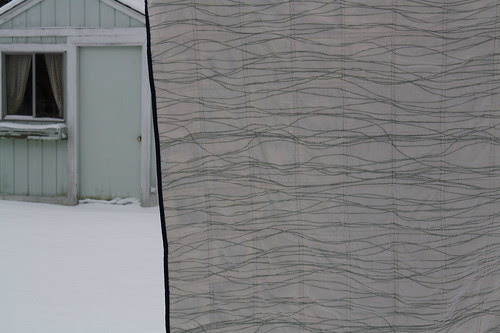 Modern Meadow Quilt (back)