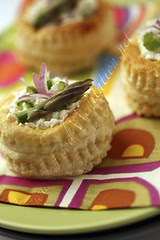 Bites - Puff Pastry with Asparagus