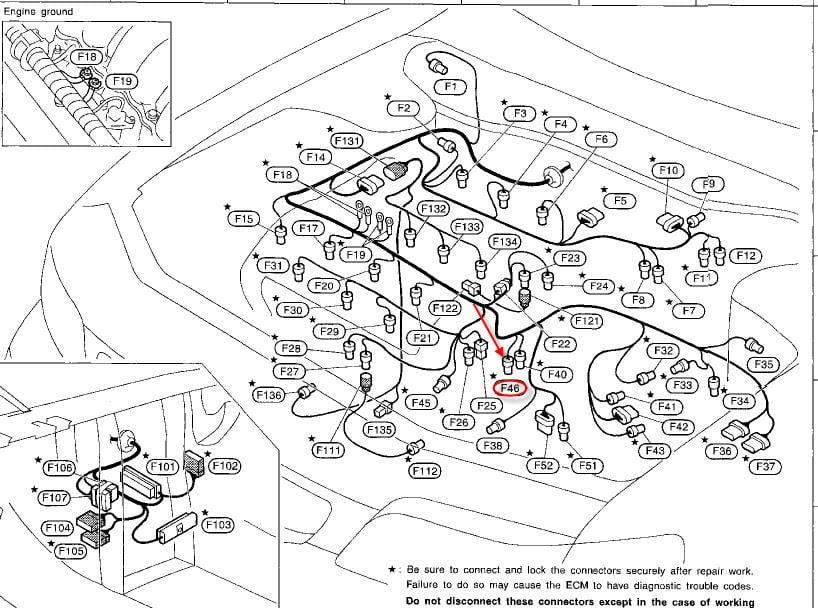 1997 Nissan maxima vacuum diagram