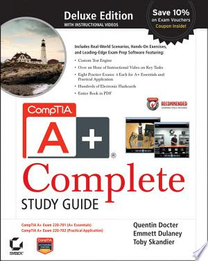 comptia a  complete deluxe study guide pdf free download