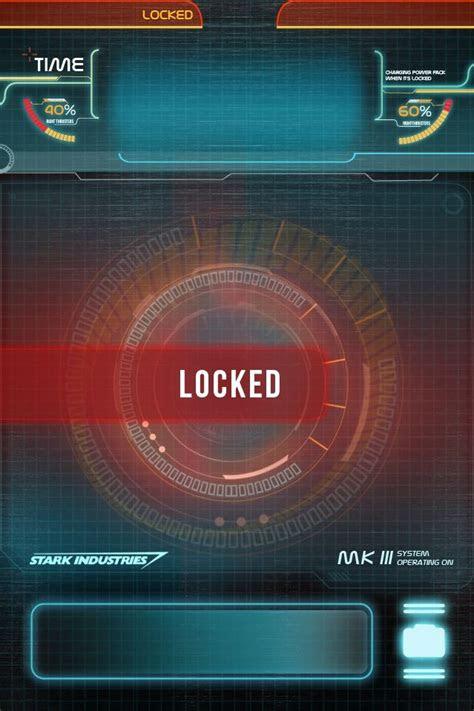 iphone  jarvis lock screen ironman httpwwwreddit