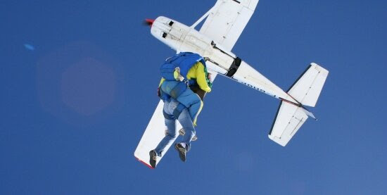 Parachutisme à Beni-Mellal