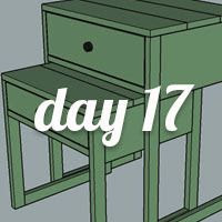 DIY Nightstand Day 17