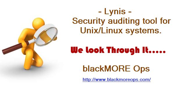 Linux security audit - blackMORE Ops - 5