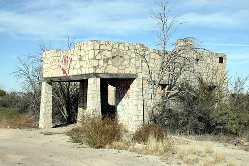 structure near malaga, new mexico
