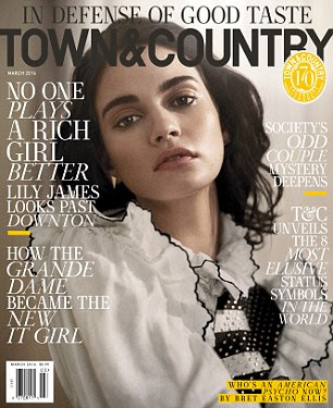 The new issue of Town & Country is on newstands now