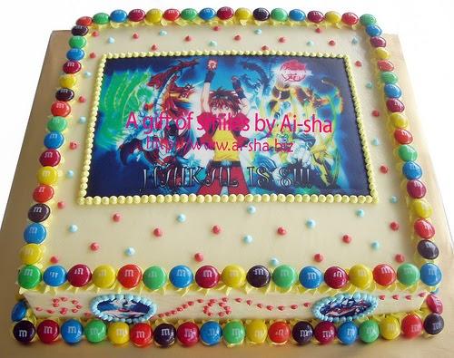 Edible Image Cake Kl : Birthday Cake Edible Image Carrot Walnut Cake Kek ...