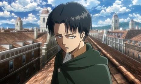 Karakter anime laki-laki terfavorit 2013, Levi – Attack on Titan