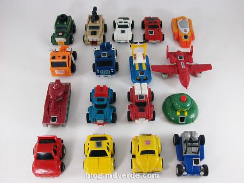 Transformers Minibots G1 - modo alterno
