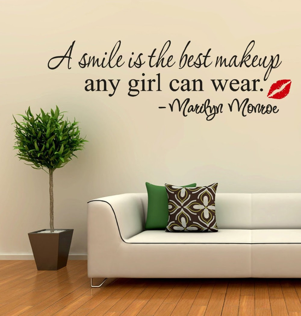 Smile Quotes Wall Stickers. QuotesGram