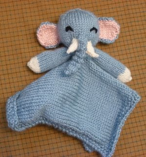 Elephant Lovie Blanket