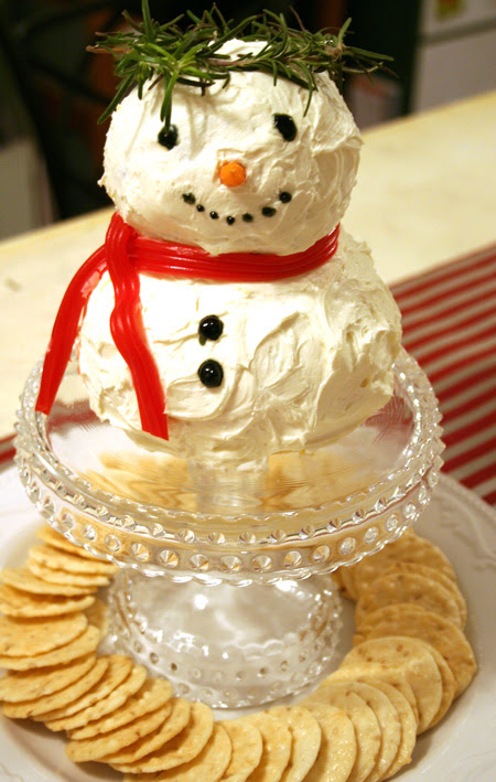 Snowman Cheeseball 3 450