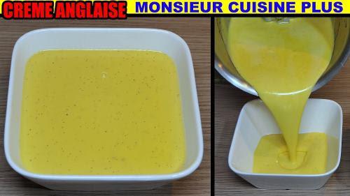 Crème Anglaise Recette Monsieur Cuisine Plus Thermomix Lidl