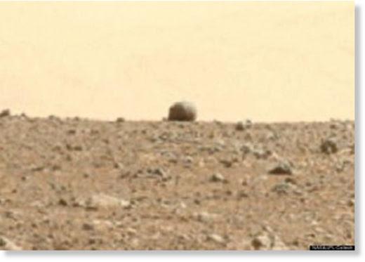 avistamiento de ovni por el Curiosity6