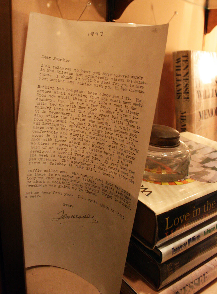IMG_1508 Tennessee Williams letter