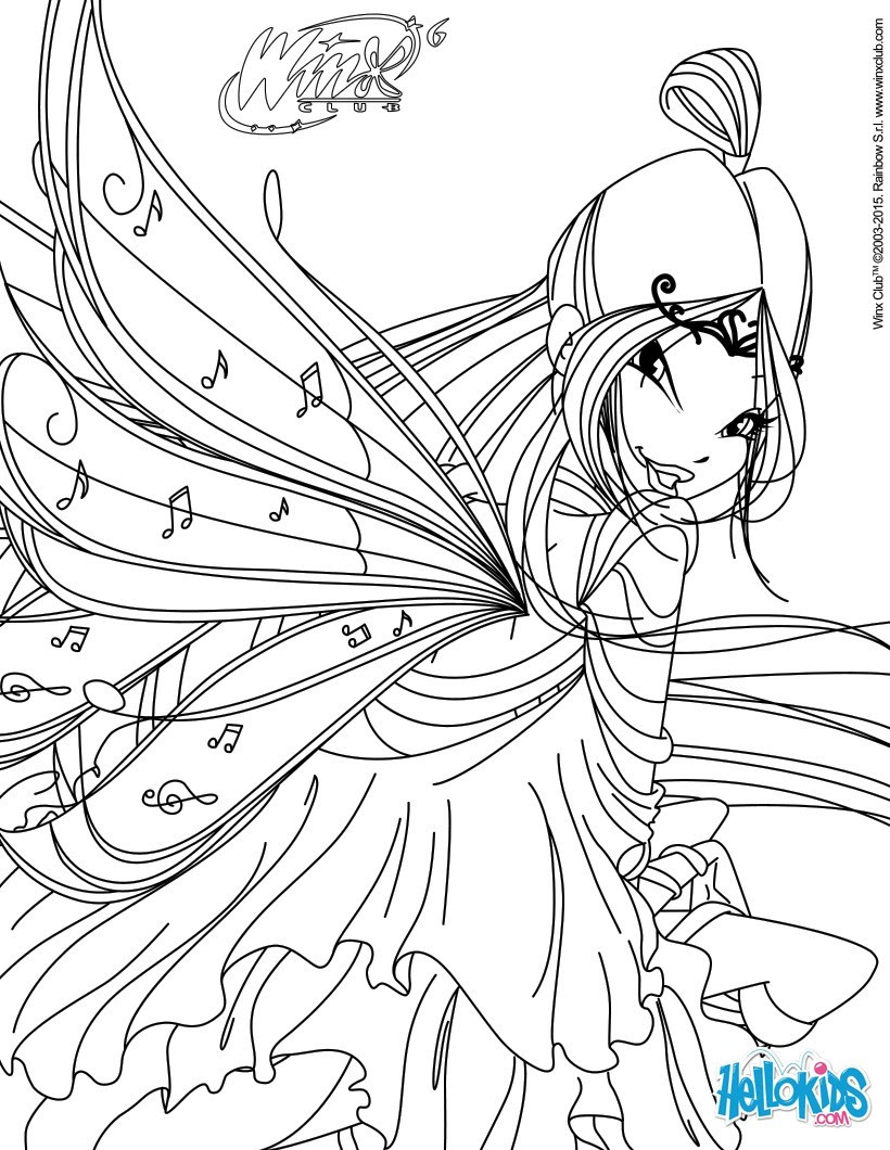Winx Club Coloring Pages 85 Online Toy Dolls Printables For Girls
