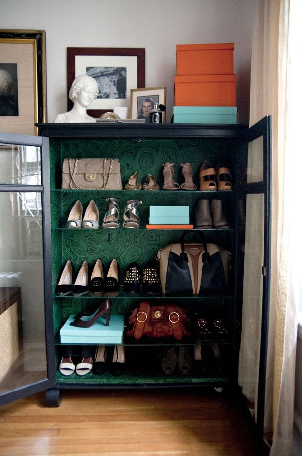 A Jewel Box for your Home | Malachite, Accessories Storage, French Chair, Wallpaper, Cole & Son, Bust, Hermes Boxes, DIY | Fourth Floor Walk Up – New York City Focused Lifestyle Blog by Lauren Caron