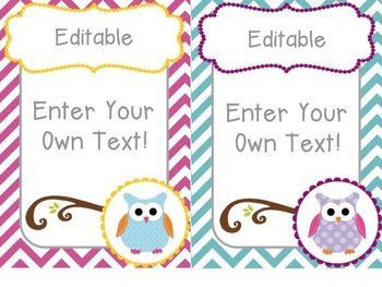 1000+ ideas about Owl Labels on Pinterest | Blank labels, Owl ...