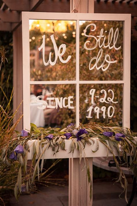 We still do wedding anniversary sign!   Love of Parties