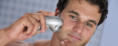 Man shaving (ThinkStock)