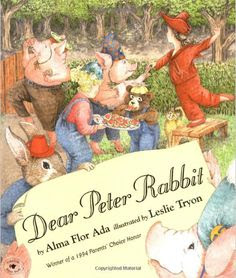 Dear Peter Rabbit... What would it be like if a few beloved fairy-tale characters were pen pals? #writing #books
