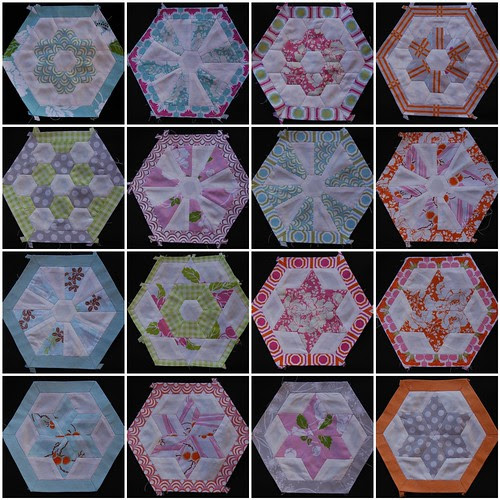 Tanya Whelan Dolce EPP hexagons