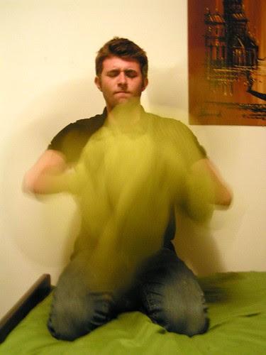 blanket twirl