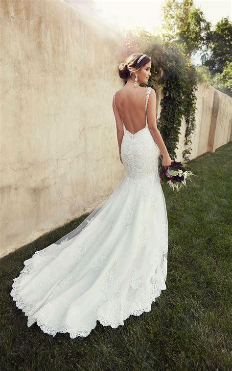 Timeless Low Back Wedding Dress from Essense of Australia