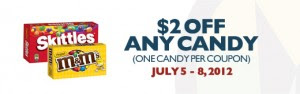 Skittles 300x94 Regal Theatres: Save $2 on Candy Purchase