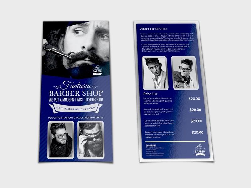Price Banner Barbershop - desain banner kekinian