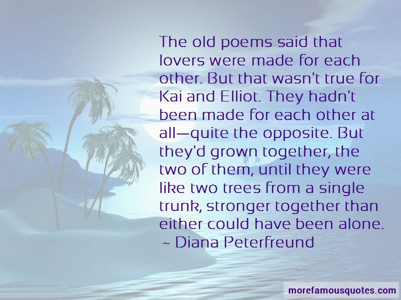 Quotes About Made For Each Other Top 59 Made For Each Other Quotes