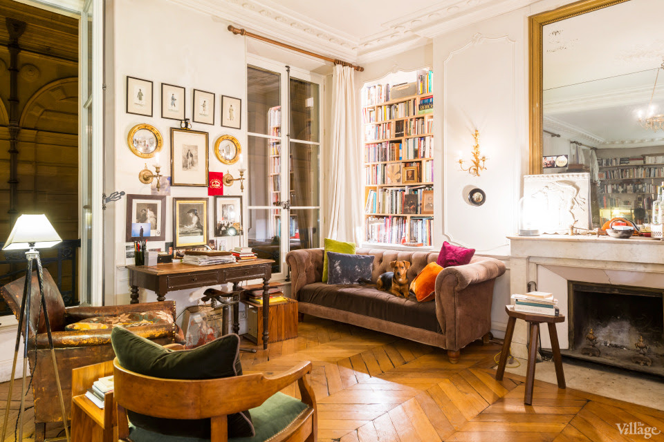 Decordemon apartment in marais paris - Decoration studio parisien ...