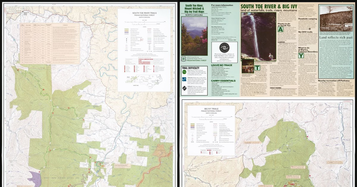 Pisgah Productions | Pisgah National Forest | Pisgah Enduro |Pisgah National Forest Map