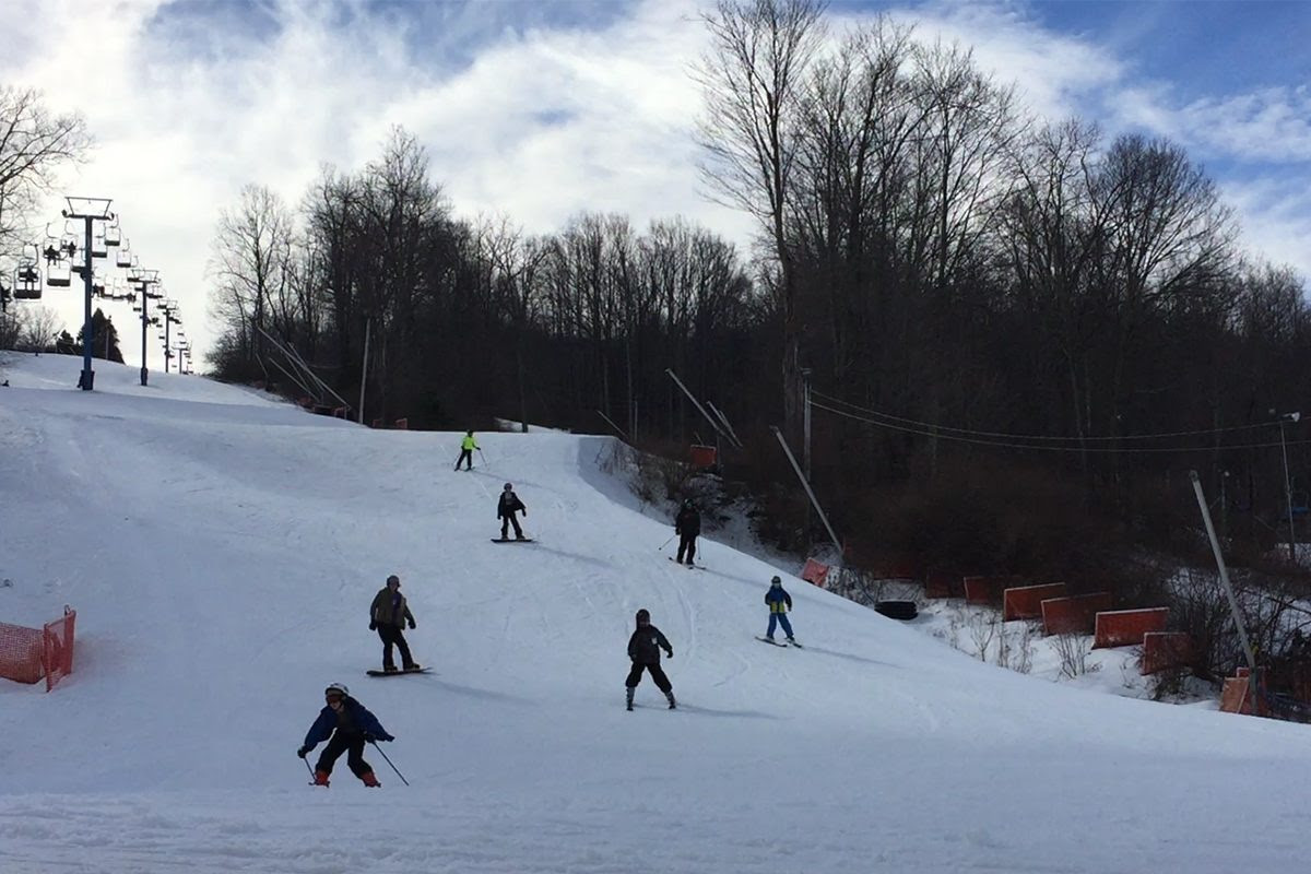 After bomb cyclone Poconos skiing enjoys boost at