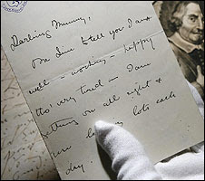 Winston Churchill's handwriting