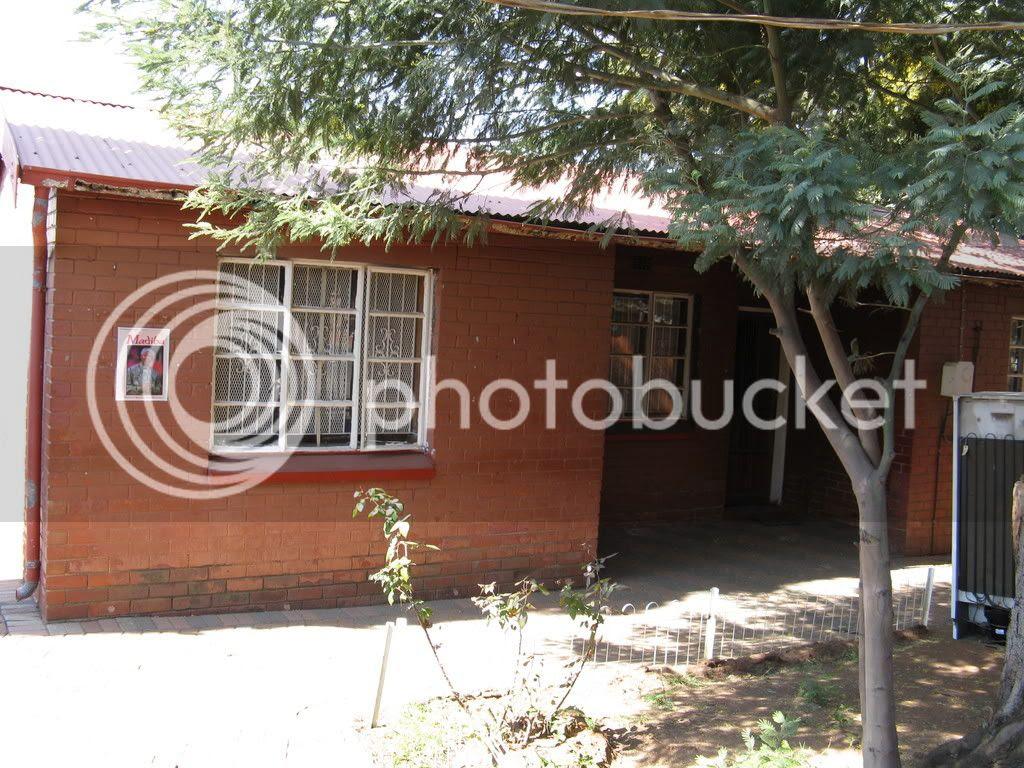 Nelson Mandela's childhood home