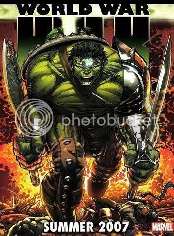 Poster de World War Hulk