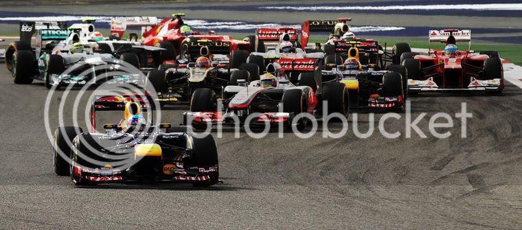 Salida GP de barein Fórmula 1 2012