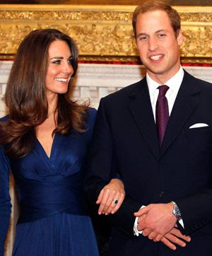 Will and Kate, engagement announcement