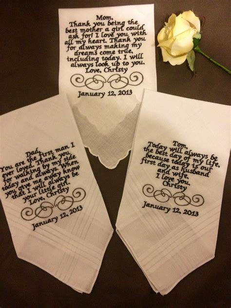 Best 25  Wedding handkerchief ideas on Pinterest   Mother