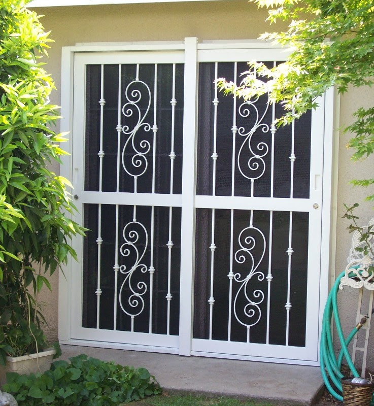 Unique Home Designs Screen Door - HomesFeed