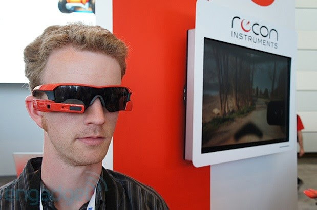 Recon Instruments Jet headsup display debuts at Google IO, we go handson video